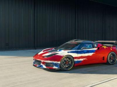 The Lotus Evora GT4 Concept Is Everything a Dual-Citizenship Track Car Should Be