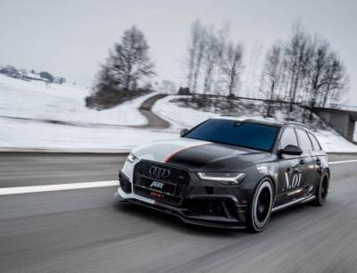 Jon Olsson's New ABT Audi RS6 Is a 725-HP Two-Faced Superwagon