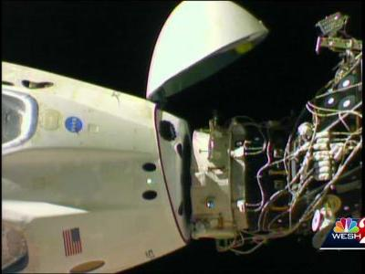 SpaceX Crew Dragon undocks from ISS, expected to splash down Friday morning
