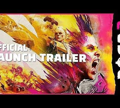 Insanity Rules in Rage 2's Launch Trailer