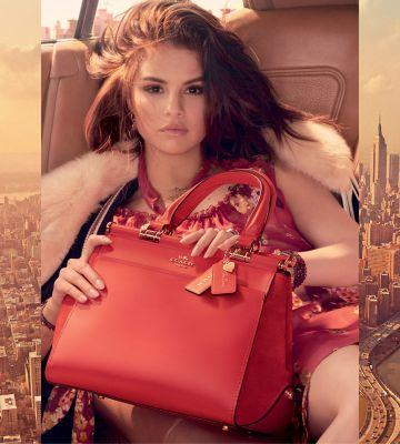 First Look: Coach x Selena Gomez Collection