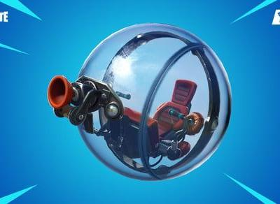 Fortnite's latest update lets you go ham in a hamster ball