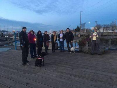 Vigil in Olympia Remembers 19 Dogs That Died in Fire at Illegal Kennel