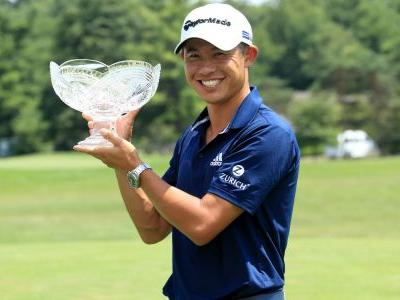 Collin Morikawa edges Justin Thomas in playoff to win Workday Charity Open