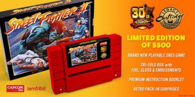 Capcom, Iam8bit Reissuing Limited-Edition SNES Street Fighter II Carts