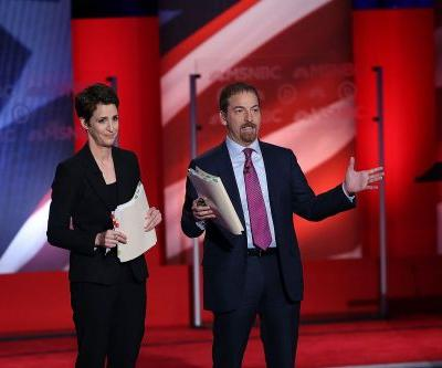 Rachel Maddow, Lester Holt among moderators for first Democratic primary debate