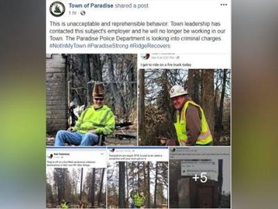 Camp Fire cleanup worker fired over photos from burn zone