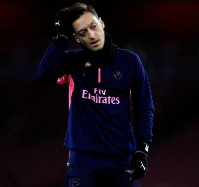 Ozil and Ramsey out of Arsenal's trip to BATE