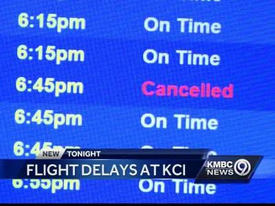 KCI feeling the crunch after massive travel blackout at Atlanta's Hartsfield-Jackson airport