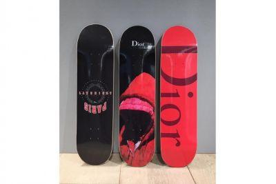 Dior Homme does Skateboards now