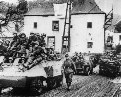 72 years ago, the Allies beat back the last great Nazi offensive - 16 photos of the Battle of the Bulge