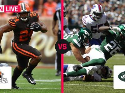 Browns vs. Jets: Live score, updates, highlights from 'Monday Night Football'