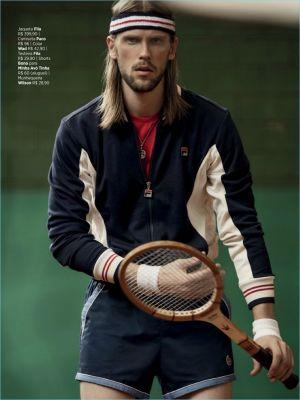 Match Point: Fellipe Wermuth Embraces Tennis Style for GQ Brasil