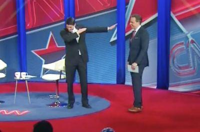 WATCH: Paul Ryan Dabbed During His CNN Town Hall Tonight