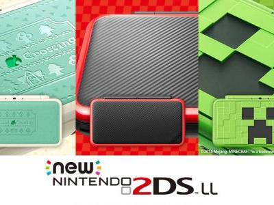 Nintendo has unveiled a Minecraft-inspired 2DS XL with the Creeper Edition