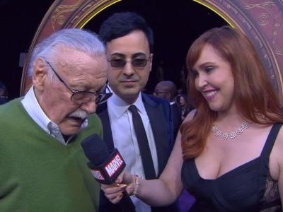 Check Out Stan Lee's Interview From The Red Carpet Of AVENGERS: INFINITY WAR
