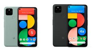 Here's how the Pixel 5 and 4a 5G compare to 2019's Pixel 4 series
