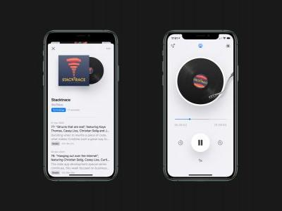 Cosmicast is a universal new podcast player that brings back the skeuomorphic design of iOS