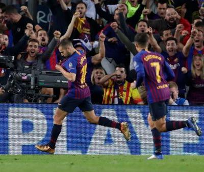 Barca outclasses Inter in 2-0 win without injured Messi