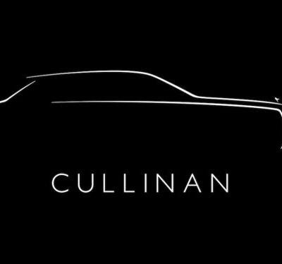 Rolls-Royce Confirms SUV Will Be Called Cullinan