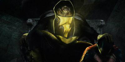 Dwayne Johnson Shares Black Adam & Superman Fan Art