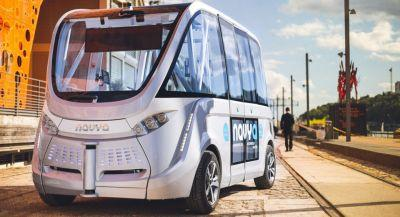 French Manufacturer Bringing Its Autonomous Shuttles To North America