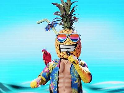 The Masked Singer Spoilers: Watch A Pineapple Man's Rough Performance Of I Will Survive