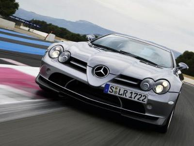 Trademark Suggests Mercedes Might Be Planning Another SLR