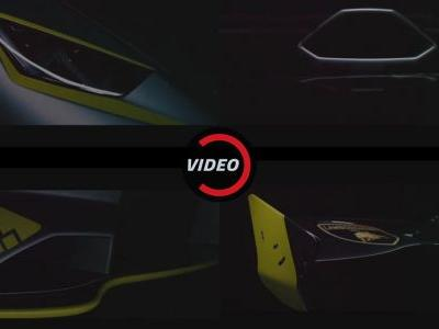 Lamborghini Teases A Mean Huracan Ahead Of Today's Unveiling