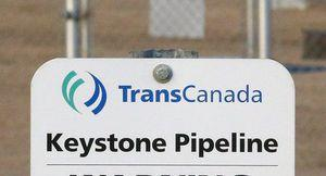 The Keystone pipeline springs a leak