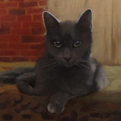 Master Coco and the Daily Paintworks Monthly Contest