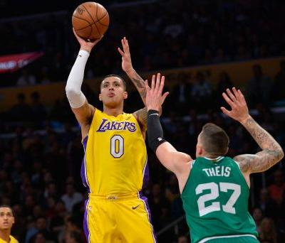Kyle Kuzma, L.A. Lakers stay hot, deal Boston Celtics a fourth consecutive defeat