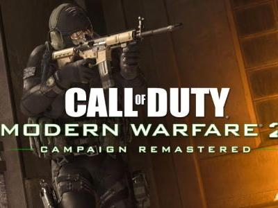Call of Duty: Modern Warfare 2 Remastered Campaign Now Available on PlayStation 4
