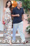 Amal Clooney's Dragon Print Dress Is a Conversation Starter to Say the Least
