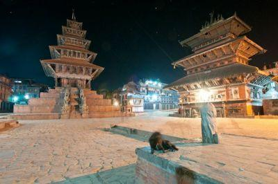 Medieval Bhaktapur at night - Nepal Photo of The Day