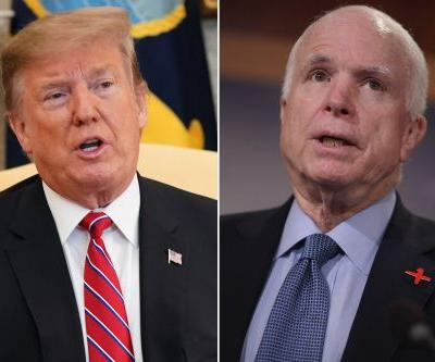Trump rips McCain yet again: 'I was never a fan'