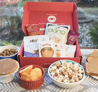 This new subscription box is made for people who love snacking and don't want to feel guilty doing it