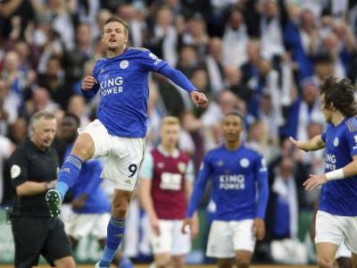 Leicester rallies to beat Burnely 2-1 in Premier League