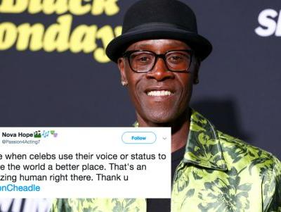 "These Tweets About Don Cheadle's ""Protect Trans Kids"" Shirt On 'SNL' Are Here For The Statement"