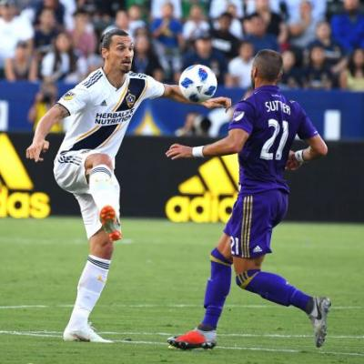 Zlatan Ibrahimovic has hat trick in Los Angeles Galaxy's thrilling win over Orlando City