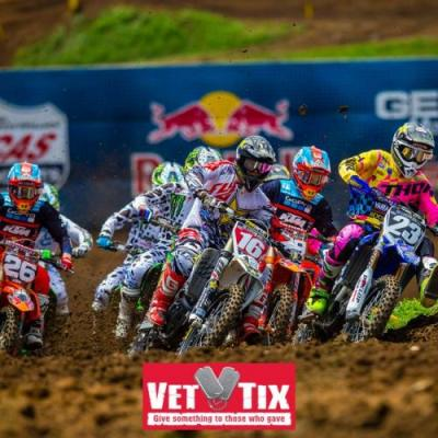 MX Sports Pro Racing and Vet Tix Renew Partnership to Provide Free Admission to Military Veterans at Pro Motocross Championship