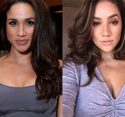 A model is going viral for her uncanny resemblance to Meghan Markle - and her photos will make you do a double take