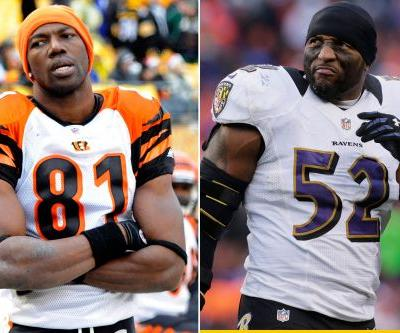 Terrell Owens and Ray Lewis are Hall of Famers