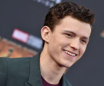 Tom Holland tries Thanksgiving pumpkin for first time