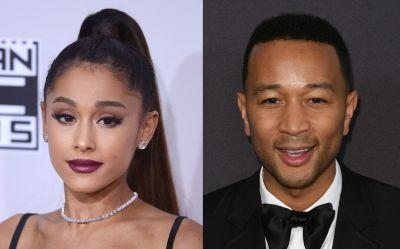 "Ariana Grande & John Legend Set To Cover ""Beauty & The Beast"""