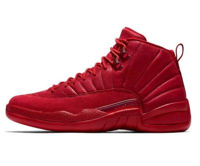 "Air Jordan 12 ""Gym Red"" Continues the All-Red Trend"