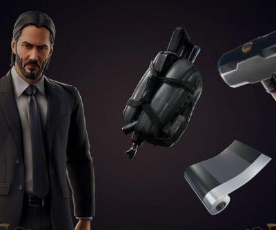 Fortnite's John Wick-themed mode is officially live for a limited time