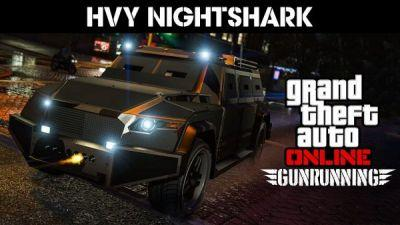 GTA Online adds new Adversary Mode Overtime Shootout, and the HVY Nightshark with its twin machine guns