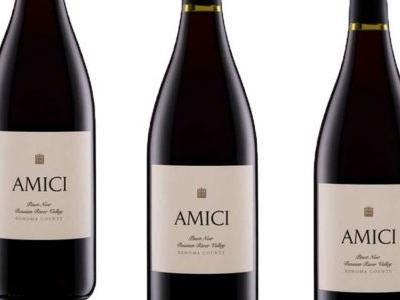 Amici Cellars Pinot Noir Russian River Valley 2017, Sonoma, Calif