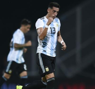 Argentina 2 Mexico 0: Funes Mori's header helps to sink El Tri